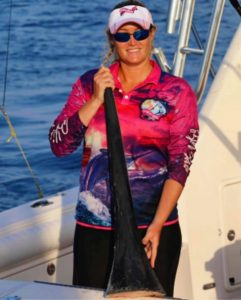 Meet Billfish babe Marlene Hicks